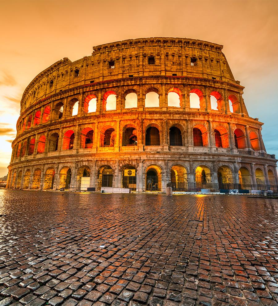 Programa en Tierra Roma y los Tesoros Tivoli