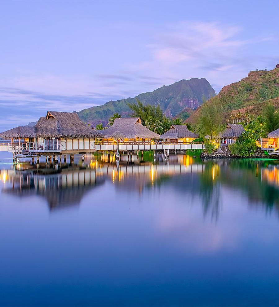 Puerto Bora Bora, Polinesia Francesa