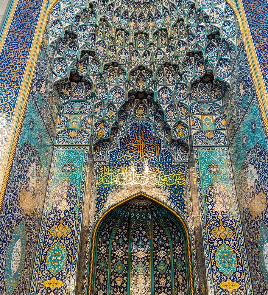 Excursión Mascate Mística con la gran Mezquita