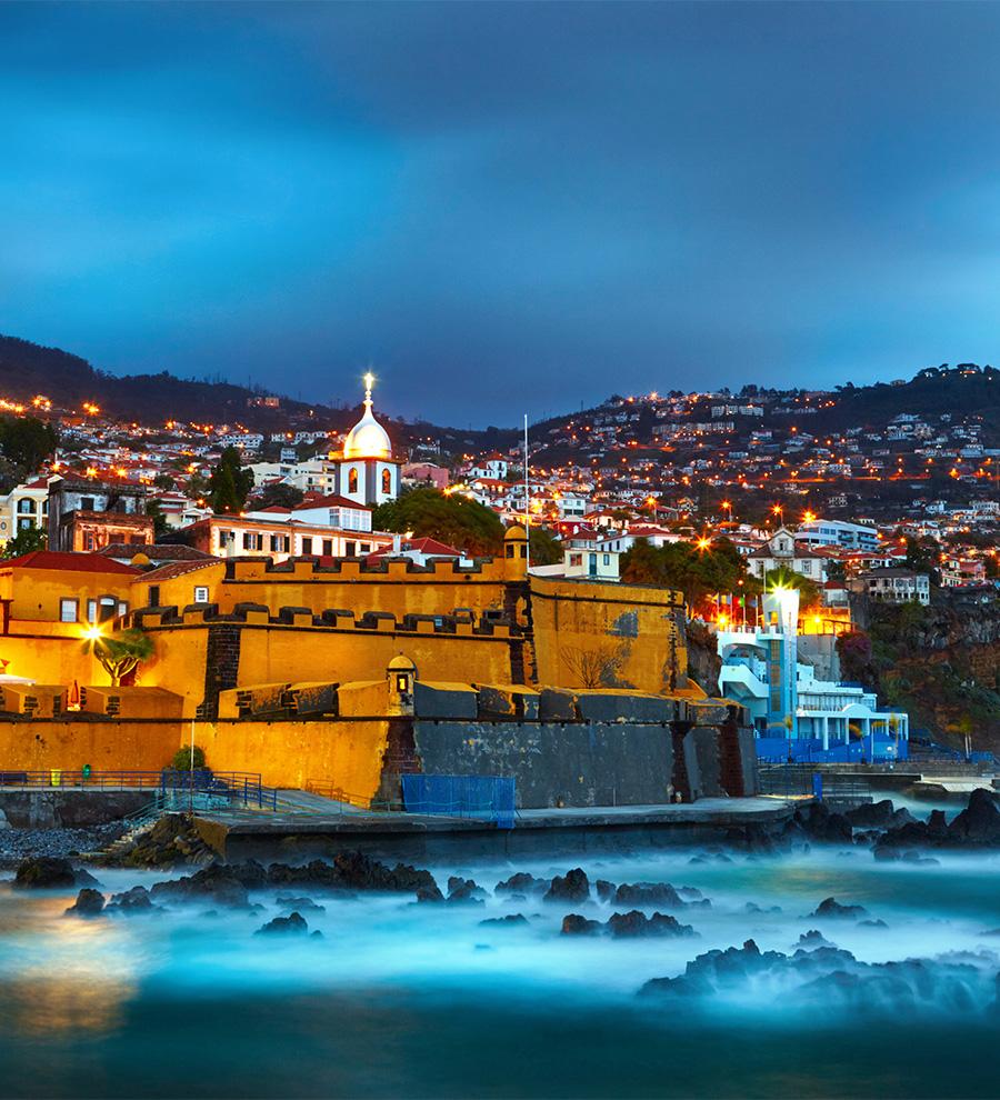 Puerto Isla Funchal-madeira, Portugal