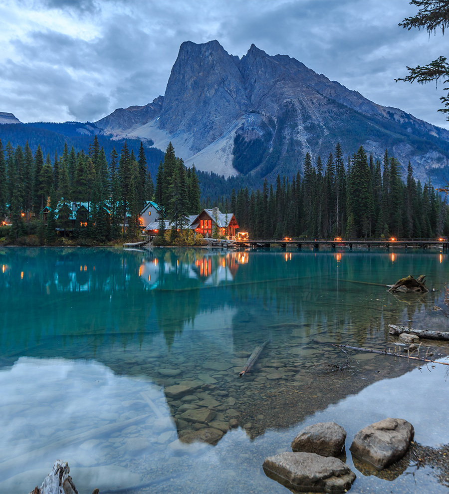 Programa en Tierra, Las Rocallosas Canadienses