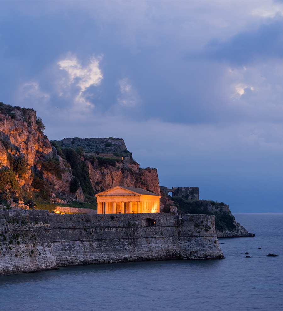 Puerto Corfu, Grecia