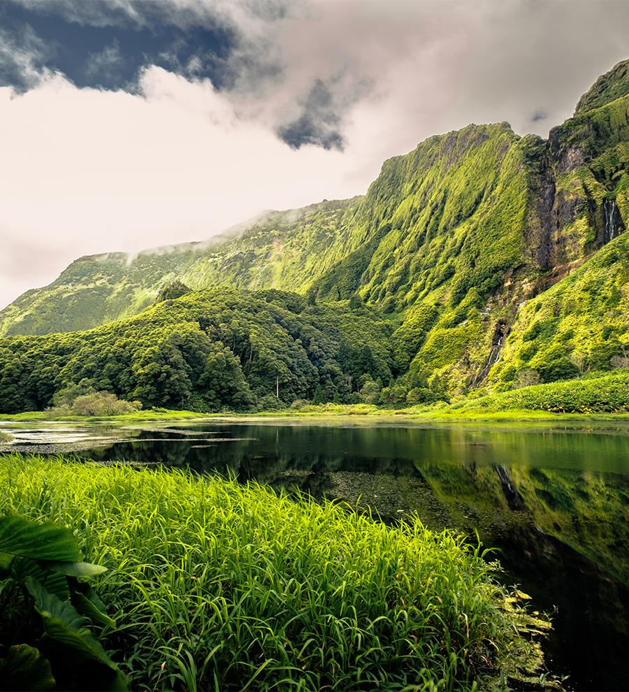Puertos Islas Azores al Natural