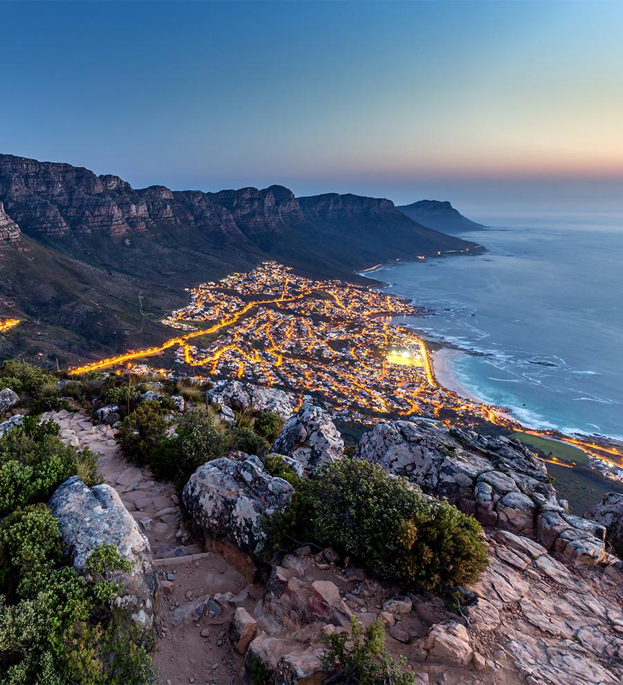 Puertos Ciudad del Cabo por Aire y Tierra